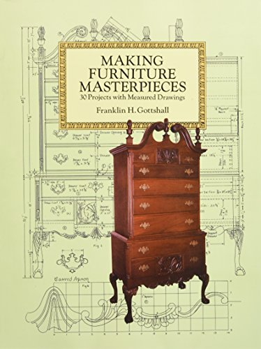 Making Furniture Masterpieces: 30 Projects with Measured Drawings (Dover Woodworking)