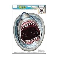 トイレ 蓋 デコレーション ステッカー 便座 ジョーズ サメ どっきり 面白ステッカー シャーク! [並行輸入品]