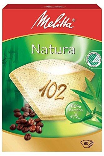 800 x Filtertüten/Kaffeefilter Melitta Natura 102