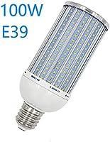 LED灯高亮 E39灯口 100W 玉米型 LED高吸顶灯 LED 灯泡 水银灯替代1000W相当 白光白 高亮度 (100W-灯泡色)