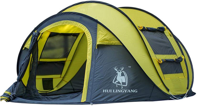 YZH Automatisches Automatisches Automatisches Zelt Outdoor Multi-Person-Tent Speed Open Camping Outdoor liefert wasserdicht Sonnencreme Anti-Uv Neu 3-4 Menschen DREI Farben Optional B07QG7F6G5  Qualitätskönigin c1c00e