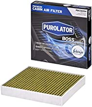 Purolator PBC36154 PurolatorBOSS Premium Cabin Air Filter with Febreze Freshness fits Select Chevrolet, Buick, Cadillac