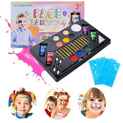Pintura Cara Niños Hallowen Pinturas Faciales Corporales