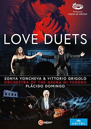 愛の二重唱 / ソーニャ・ヨンチェヴァ&ヴィットリオ・グリゴーロ (Love Duets / Sonya Yoncheva & Vittorio Grigolo) [DVD] [Import] [Live] [日本語帯・解説付]
