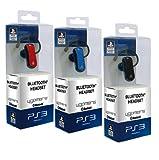Sony PlayStation 3 - Auriculares Inalámbricos Con Bluetooth (surtido; colores: azul, rojo, negro)