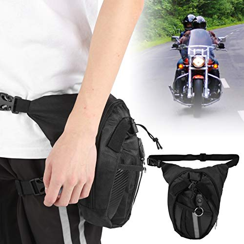 Wosune Motorrad Beintasche, Motorradtasche Angeltasche Oberschenkeltasche Motorrad Oxford Beintasche Oxford Beintasche Taille Drop, für Outdoor-Motorrad