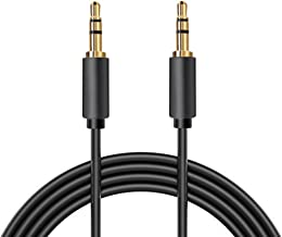 3.5 mm Male to Male Stereo Audio Cable, Gold Plated, Slim Connector, Nextronics (30ft | 10M)