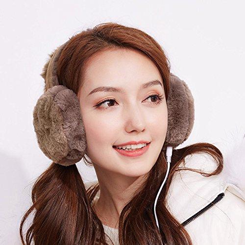 Muziek, oorbeschermers voor herfst en winter, warm, voor outdoor, studenten, oorbeschermers, warme oorbeschermers, Valentijnsdag, verjaardag, Valentijnsdag, festivalentijnsdag, verjaardagscadeau.