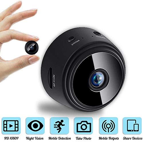 Mini Camera, WiFi Camera, Full HD 1080P Night Vision...
