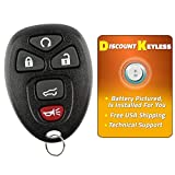 Discount Keyless Replacement Key Fob Car Remote Compatible with 15913415, 25839476