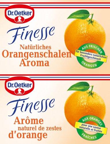 Dr. Oetker Finesse Natürliches Orangenschalen Aroma (1 x 12 g)