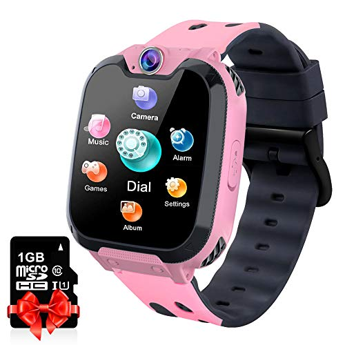 Kids Smart Watch Music Player with SD Card HD Touch Screen Sports...