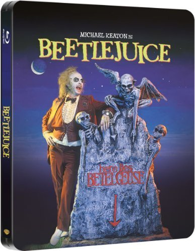Beetlejuice - UK Exclusive Ultra Limited Blu-Ray Steelbook Edition 2,000 Copies Region Free