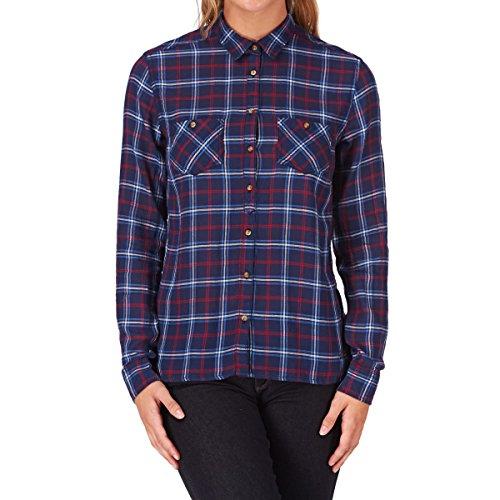 Pepe Jeans Damen Hemd RAVEN, Gr. 38 (Herstellergröße: M), Blau (NAVY 595)