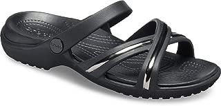 Crocs Women's Meleen Metal Block XBand Sandal
