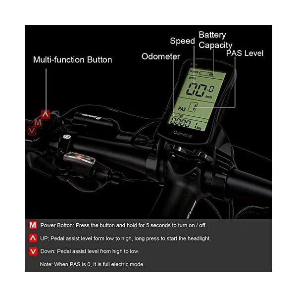 51o5NwjosoL. SS600  - JINHH 27-Fach klappbares elektrisches Fahrrad mit 1000 W 26 * 4,0 Fat Bike 5 PAS Hydraulische Scheibenbremse 48 V 10 Ah Abnehmbare Lithiumbatterieladung (gelber Standard, 1000 W + 1 Sp. Z oo)