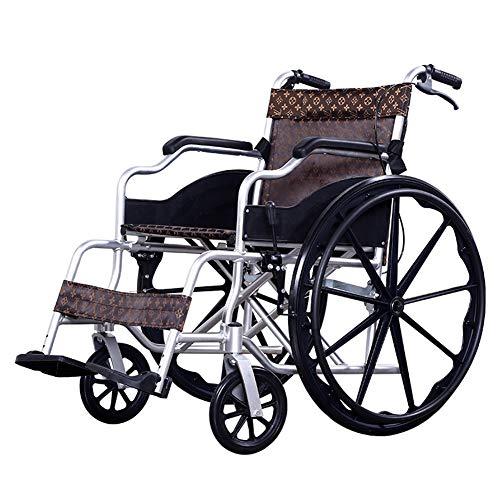 Rolstoel voor kinderwagen, met frame van aluminium, licht, inklapbaar, voor reizen, met handrem