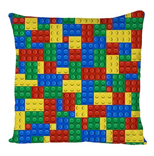 About Lego Poster,Pillow Case,Cushion Cover,Home Sofa Décor Fundas para Almohada 24x24Inch(60cmx60cm)