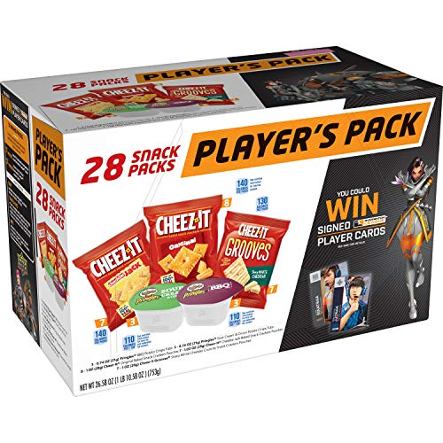Overwatch Player's Pack, Variety Pack, (1 Pack 28 count) 26.58oz Caddy