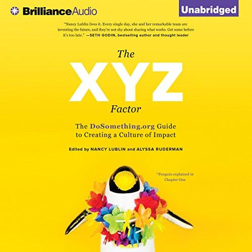 The XYZ Factor audiobook cover art