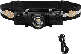 Koplamp D20 XPG LED Krachtige Koplamp 4-Mode Zoom 1000LM Koplamp Oplaadbare 18650 Waterdichte Hoofd Torch voor Camping Jac...