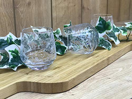 6x Wasserglas zum Espresso | Kahve Yani | Glas | Trinkglas | 95cc