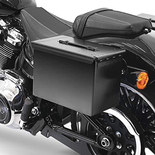 Satteltasche PA108 + Halter abnehmbar für Harley Softail Standard 2020 Links