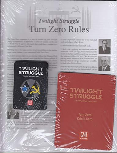 GMT Games GMT1915 Twilight Struggle Turn Zero Expansion