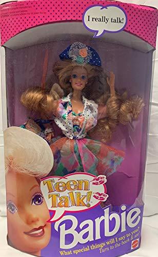 Mattel Teen Talk Barbie Doll - 1991 by Mattel (English Manual)