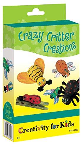 Creativity for Kids - Cfk1433 - Kit De Loisirs Créatifs - Mini-kit Créatif De Petites Créatures Farfelues