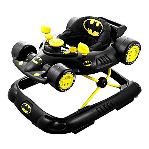 Kids Embrace 5502BATBK DC Comics Supportive Batman Superhero Baby Batmobile Walker for Infants Up to...