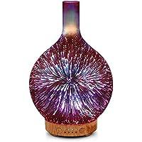 Porseme 3D Glass Rose Gold Essential Oil Diffuser