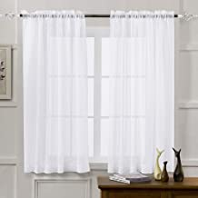 panel sheer curtains