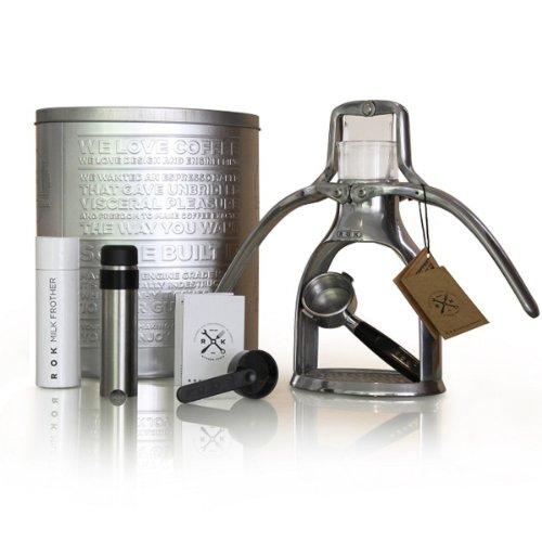 Rok Manual Espresso Maker Silver, One Size