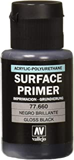 Vallejo Gloss Black Primer 32ml Paint