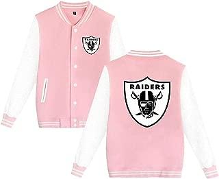 Oakland Raiders Varsity Jacket Baseball Jacket Women's Bomber Coat Men's