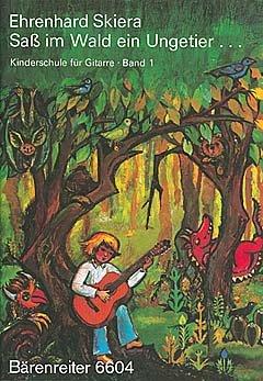 SASS IM WALD EIN UNGETIER (1) - arrangiert für Gitarre [Noten / Sheetmusic] Komponist: SKIERA EHRENHARD