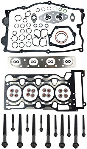 11120308857 Engine Cylinder Head Gasket Set with Bolts for BM-W N46 N43 N45 E46 118i 120i 316i 318i 320i 316ti 318ti 318ci 11127511535