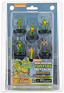 Wizkids CMG  Teenage Mutant Ninja Turtles HeroClix Heroes in A Half Shell Fast Forces Pack