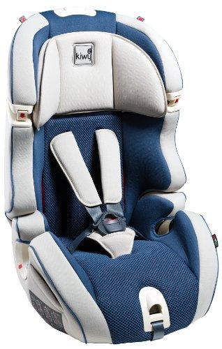 Kiwy 13103KW06B SL 123 - Seggiolino auto universale per bambini, gruppi 1/2/3 (9-36 kg), certificato ECE R44/04, colore: Blu oceano