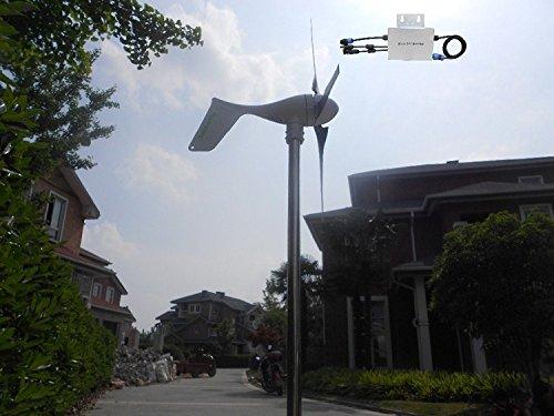 GOWE Grid tie 800W wind turbine generator +controller + Waterproof Grid tie inverter