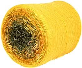 ZuzuHobby Acrylic Yarn Cake, Big roll, Ombre Effect, Hand Knitting, Crocheting, Knitting Yarn for Machine Knitting, Multicolor, 15 Ounces / 2187 Yards (125)