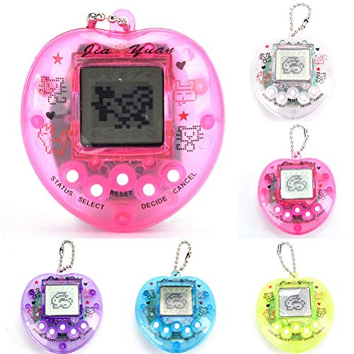 Tamagotchi Virtual Pets, 168 Animali, 90s Adorabili Giocattoli Elettronici Virtuali, Divertente Gioco digitale, Regalo di Compleanno di Natale per Bambini, Colore Casuale