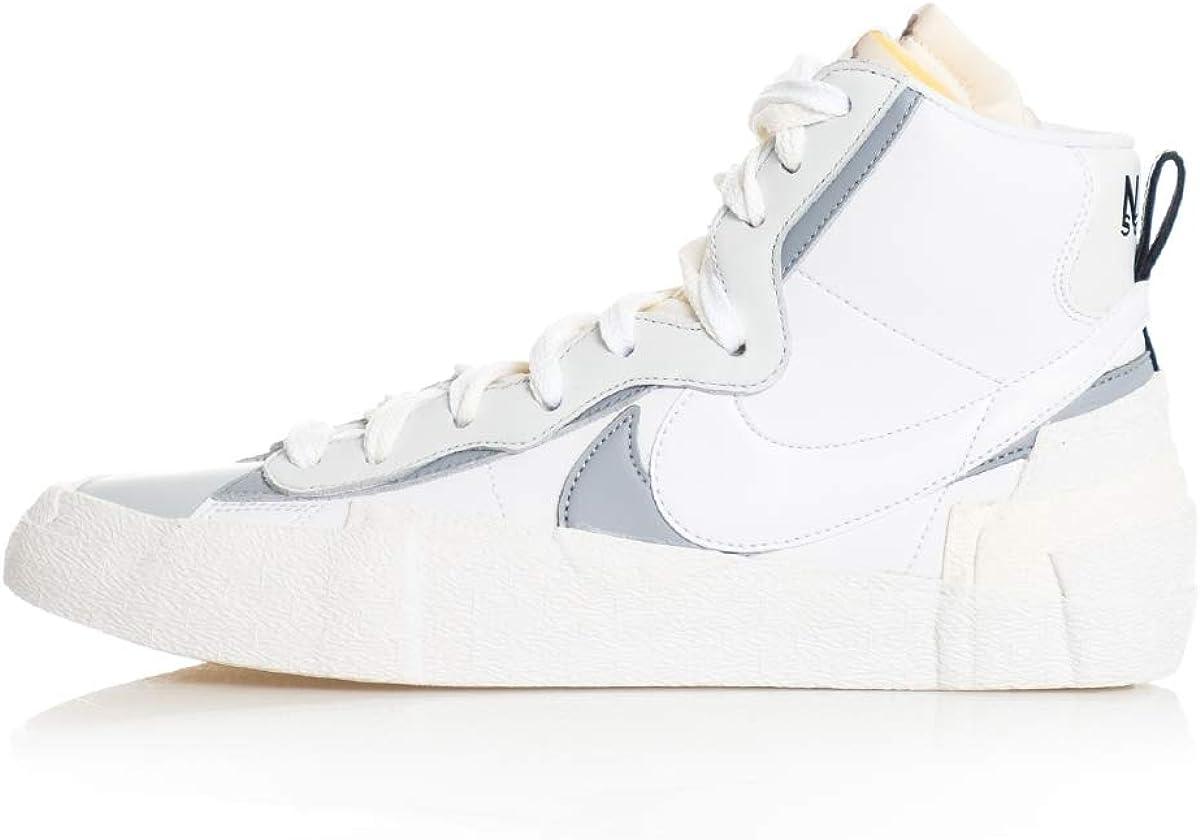 sacai white blazer