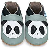 Soft Leather Toddler Shoes - Baby Shoes with Suede Soles