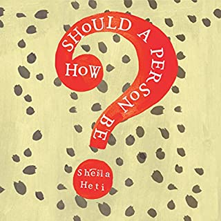 How Should a Person Be? cover art