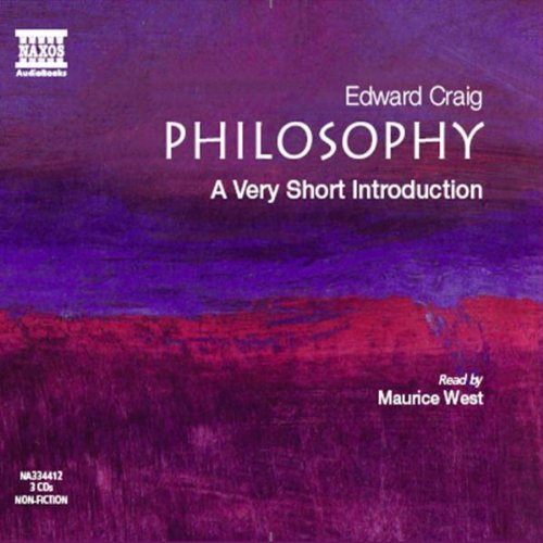Philosophy: A Very Short Introduction: Philosophy (Very Short Introductions)