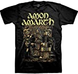 ill Rock Merch - Camiseta - Hombre de color Negro de talla Large - Ill Rock Merch Amon Amarth Thor Oden's Son Shirt - Nero - Large
