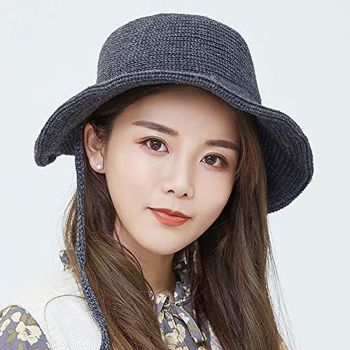 geiqianjiumai Fisherman hoed vrouwelijke casual wilde kleine opvouwbare doek cap eenvoudige mode student wastafel cap