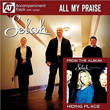 All My Praise (Accompaniment Track)